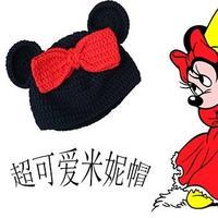 云宝宝钩针婴幼儿米妮帽编织视频 超萌米妮鞋帽套装(1)编织人生视频学堂