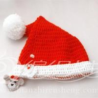 云宝宝婴幼儿钩针圣诞帽子的编织视频 圣诞套装(1)编织人生视频学堂