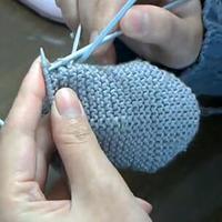 袜子脚跟 第16集零基础教你编织袜子(2)编织小屋编织视频教程