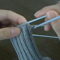 袜子收针 第17集零基础教你编织袜子(3)编织小屋编织视频教程