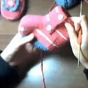 编织宝宝鞋婴儿鞋视频教程