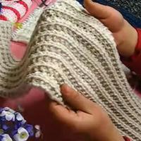 手工编织男士女士情侣围巾编织视频教程相思扣