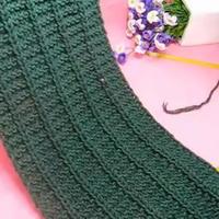 节节高 织围巾视频 第38集 棒针花样围巾花样