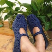 温暖实用又好看的棒树叶花地板鞋超详细图文教程