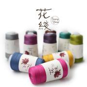 【花线】驼绒50%棉50% 限量 进口 手编中粗棒针钩针毛线 100克