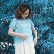 云素麻棉女士钩针流苏罩衫