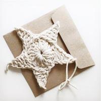 趣味编织小花样之钩针五角星