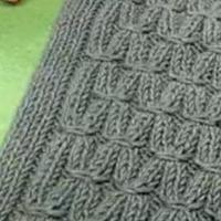 织男士玉米花围巾视频 第77集 棒针花样围巾花样