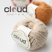 【云点】Tweed 粗花呢线 手编粗毛线 毛衣围巾线
