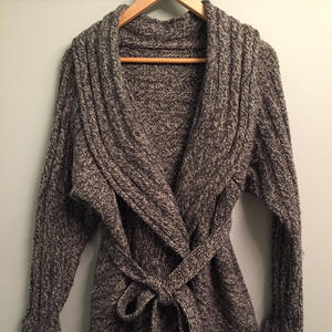 Swirl 欧美棒针圆形时尚大外套毛衣