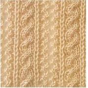 棒针编织镂空麻花花样