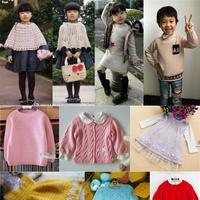 马卡龙儿童编织服饰30款 编织人生毛线萌芽作品汇总