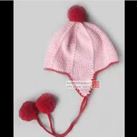 男女宝宝钩针护耳帽的钩法视频教程