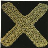 钩针花样之字母X
