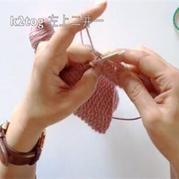 左手拿线编织技巧视频教程 棒针编织技巧视频