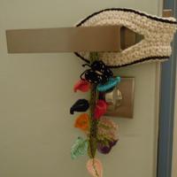 用毛线编织儿童安全防护用品 毛线编织创意零线创意