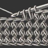 收針卻不少針的花樣 基礎針法不同鉤法產生的特別效果(短針2并1篇)