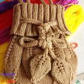 教你织经典织包之棒针树叶包包 编织树叶包包视频教程