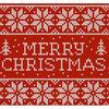 圣诞节编织 雪花圣诞字母编织