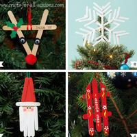圣诞节diy:圣诞将至,明年夏天的棒冰棍不要扔了!