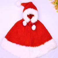 小红帽披肩圣诞披肩 棒针连帽斗篷披肩编织视频教程