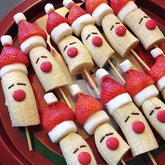 美食DIY:常见食材打造趣味圣诞餐点