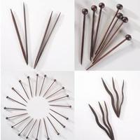 如何处理不常用的竹针 短棒针制作教程(五根针、织小件用)