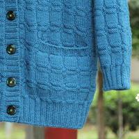 棒针技巧之完美无痕口袋 毛衣内置口袋的编织技巧