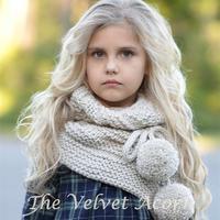 自然舒适甜美儿童毛线配饰 美国编织设计师Heidi May作品