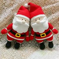 缤纷圣诞之钩针圣诞老人图解翻译教程