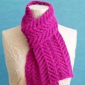 5步教你设计自己的围巾