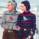 鲜为人知关于雪花圣诞毛衣的历史 毛衣历史
