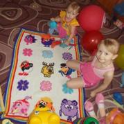 毛线毯轻松织 钩针配色趣味童毯钩针拼花毯