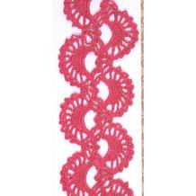 美丽的钩针编织俄罗斯花边