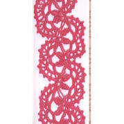钩针编织美丽的俄罗斯花边