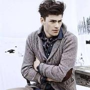 冬日男士毛衣款式及搭配