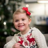 瑞典埃斯特拉公主毛衣 0-3岁宝宝棒针毛衣编织服饰