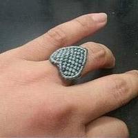 心形戒指手工编织教程
