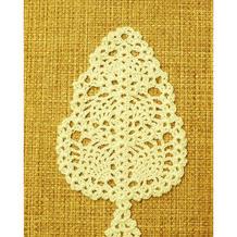 钩针菠萝花小树