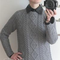 万能穿搭男女同款棒针暖心羊绒衫