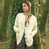 22款女士爱尔兰经典阿兰毛衣 棒针女装款式
