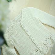 天使之翼(2-1)金羊女童钩针春秋款开衫毛衣视频教程