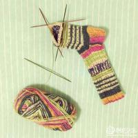 比堆堆袜要美得多的袜子编织方法