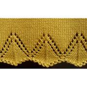 棒针编织花边
