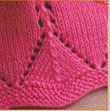 棒针编织花边3
