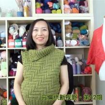 会编织新视野第42期 美丽毛线绣、钩针壁挂装饰