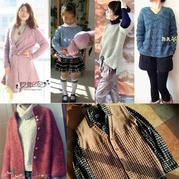 2016年第5期周热门编织作品:秋冬毛衣款式热款编织服饰14款