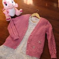 LK150快乐编织机之小女生实用休闲小开衫