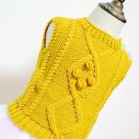 宝宝菱形花肩开扣背心 儿童毛衣编织视频