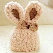 小兔毛线帽(3-1)宝宝可爱兔耳毛线帽织法视频